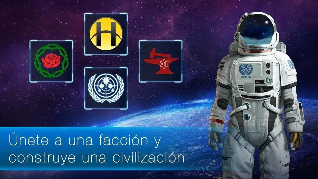 Únete a una facción y construye una civilización