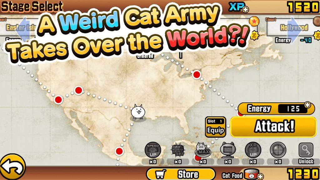 The Battle Cats MOD APK - Juego simple