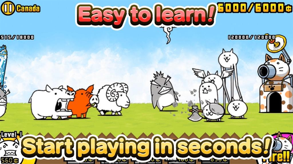 The Battle Cats MOD APK - Facil de aprender