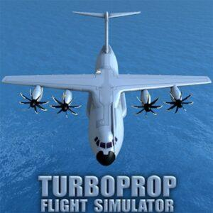 Turboprop Flight Simulator 3D APK MOD