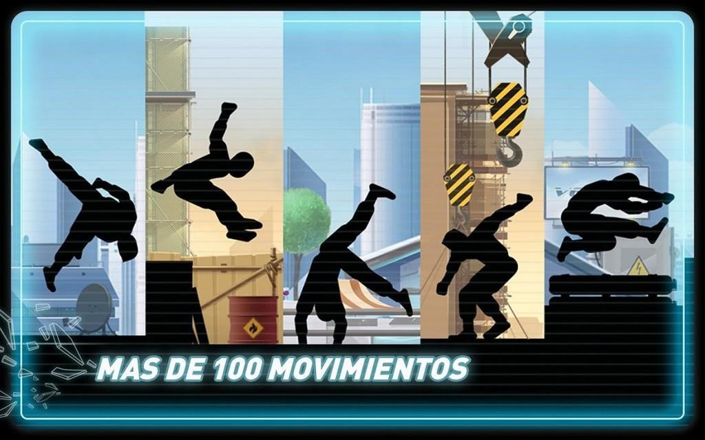 Vector MOD APK - Mas de 100 movimientos