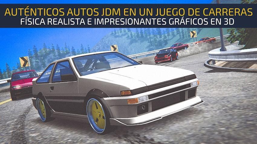 JDM Racing - Drag & Drift Races APK MOD Imagen 1