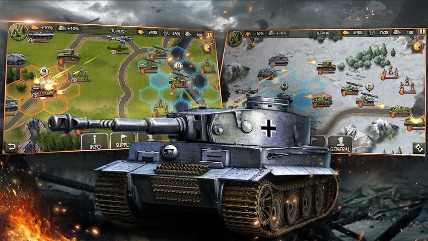 World War 2 APK MOD Imagen 3