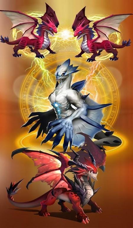Dragon Epic - Idle & Merge APK MOD imagen 1