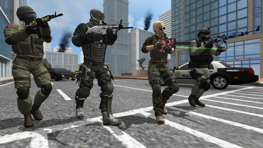 Earth Protect Squad APK MOD imagen 3