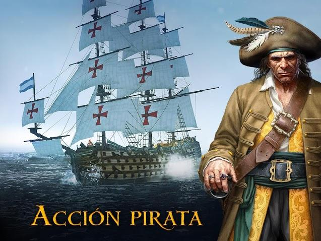 Tempest - Pirate Action RPG APK MOD Imagen 1