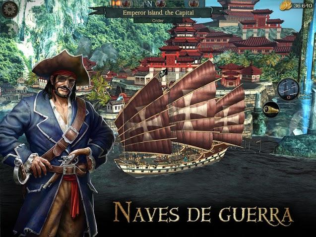 Tempest - Pirate Action RPG APK MOD Imagen 2