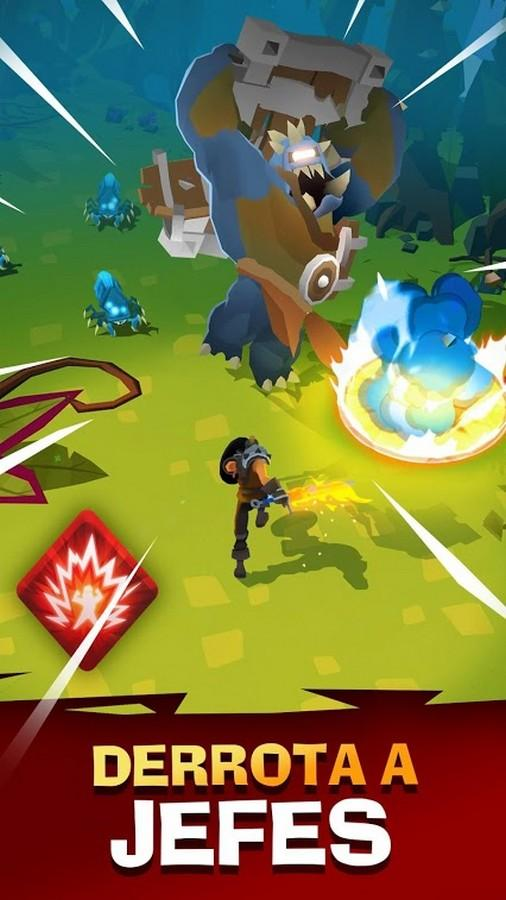 The Mighty Quest for Epic Loot APK MOD imagen 1
