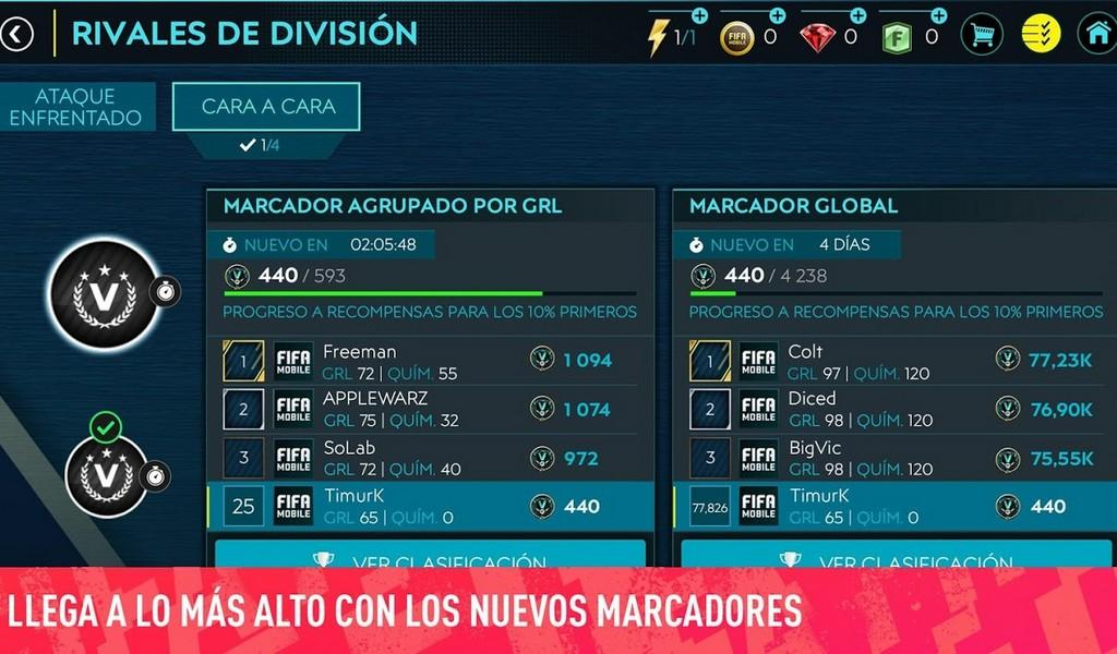 FIFA Mobile Soccer APK MOD imagen 1