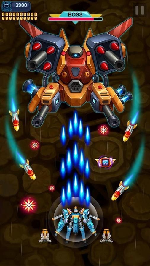 Galaxy Invader Space Shooting APK MOD imagen 2
