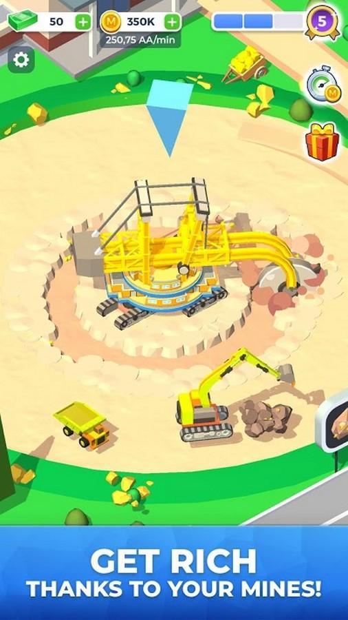 Mining Inc. APK MOD imagen 1