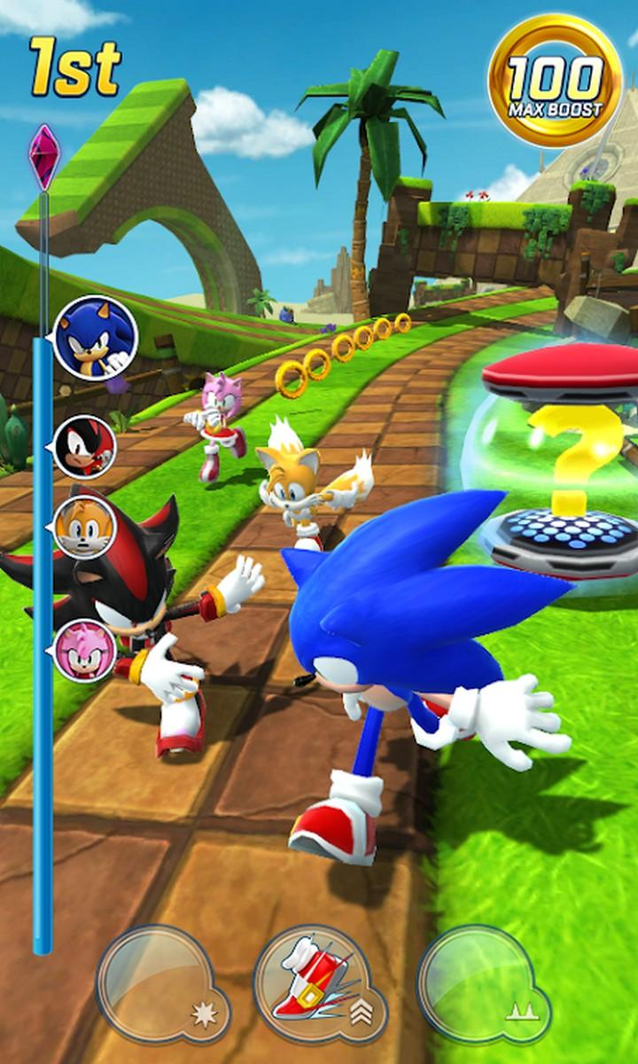 Sonic Forces Speed Battle APK MOD imagen 2