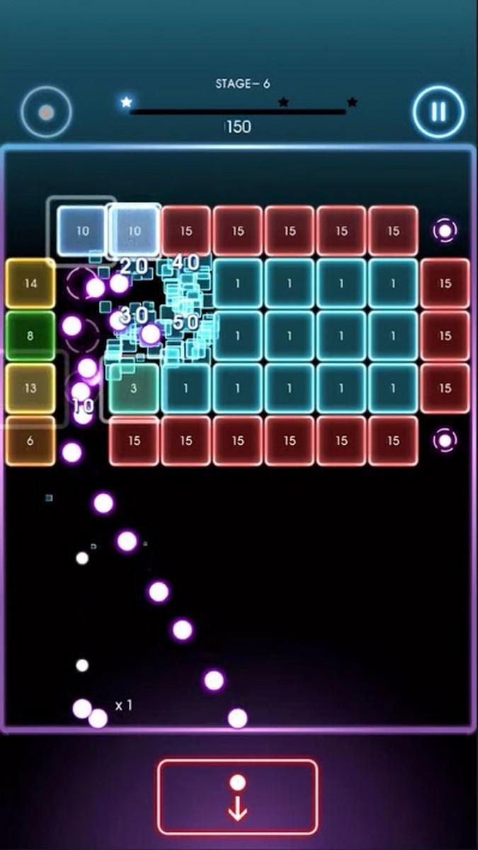 Bricks Breaker Quest APK MOD imagen 1