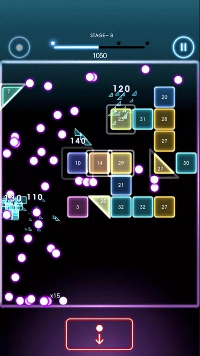 Bricks Breaker Quest APK MOD imagen 2