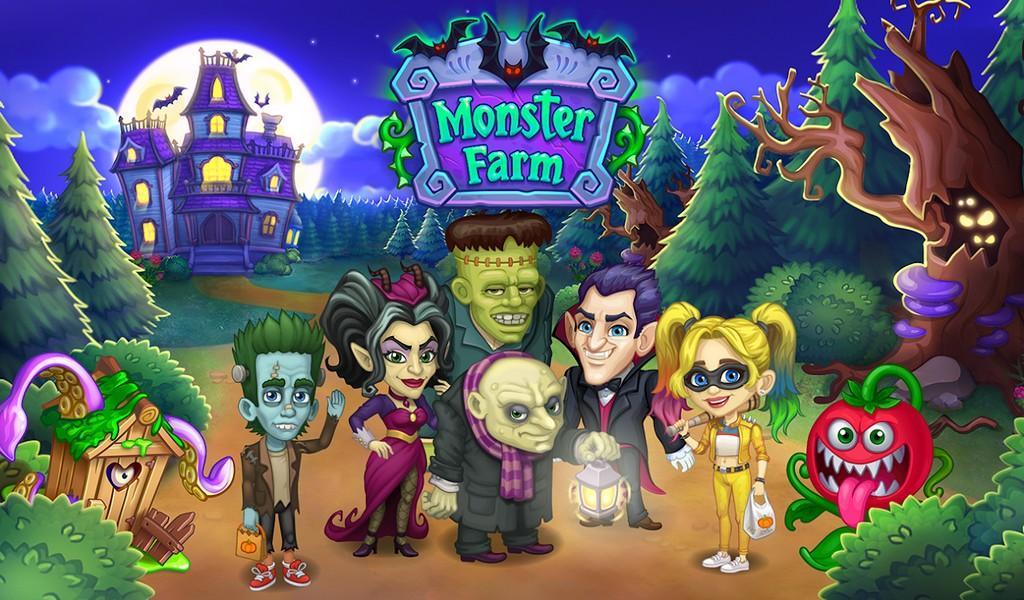 Monster Farm APK MOD imagen 1