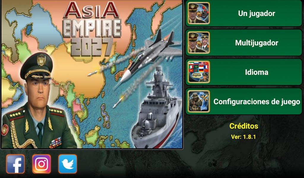 Asia Empire 2027 APK MOD imagen 1