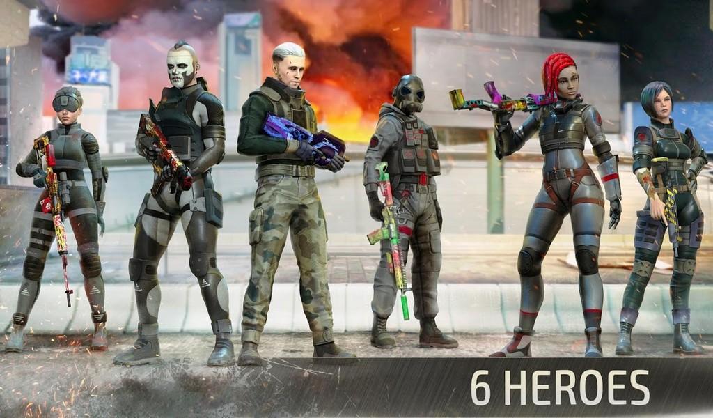 Battle Forces APK MOD imagen 2