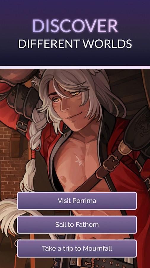 Fictif Visual Novels APK MOD imagen 2