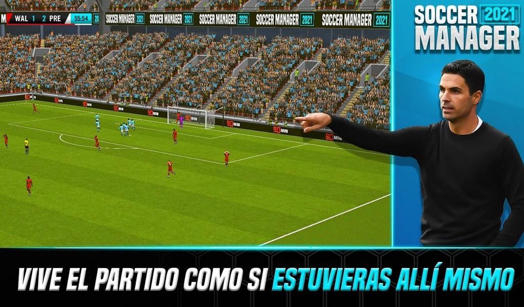 Soccer Manager 2021 APK MOD imagen 1