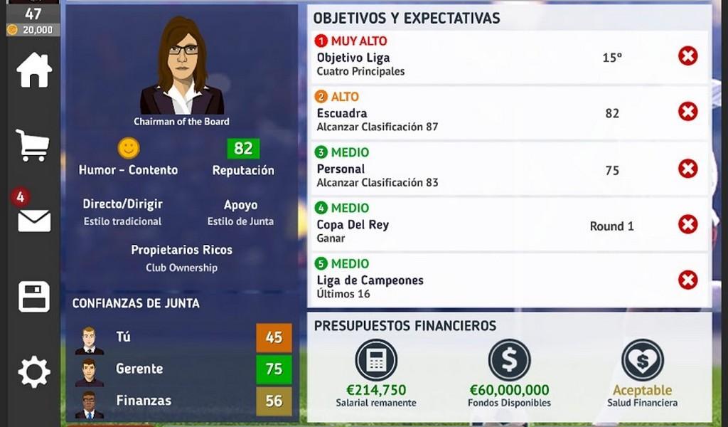 Club Soccer Director 2021 APK MOD imagen 3