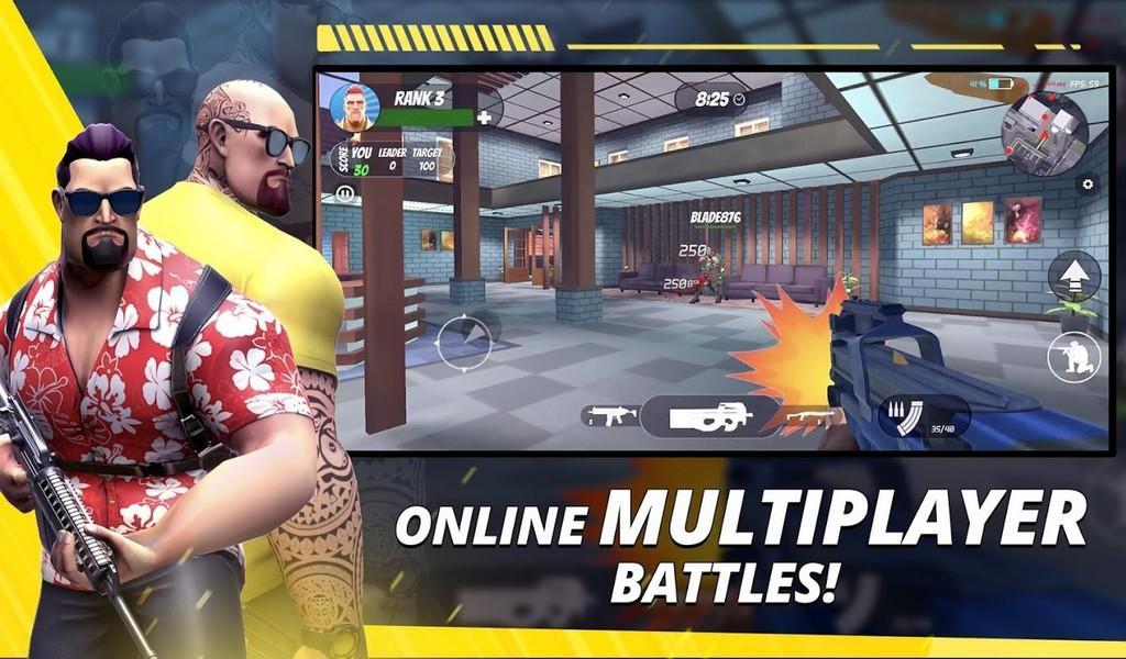 Gun Game - Arms Race APK MOD imagen 2