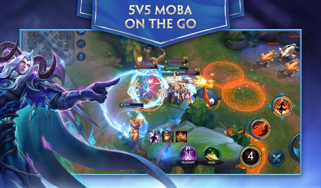 Heroes Evolved APK MOD imagen 1