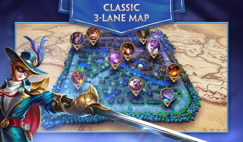 Heroes Evolved APK MOD imagen 2