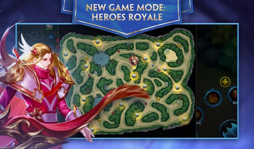Heroes Evolved APK MOD imagen 3