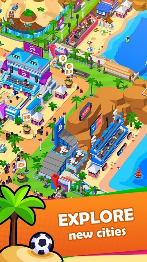 Sports City Tycoon APK MOD imagen 2