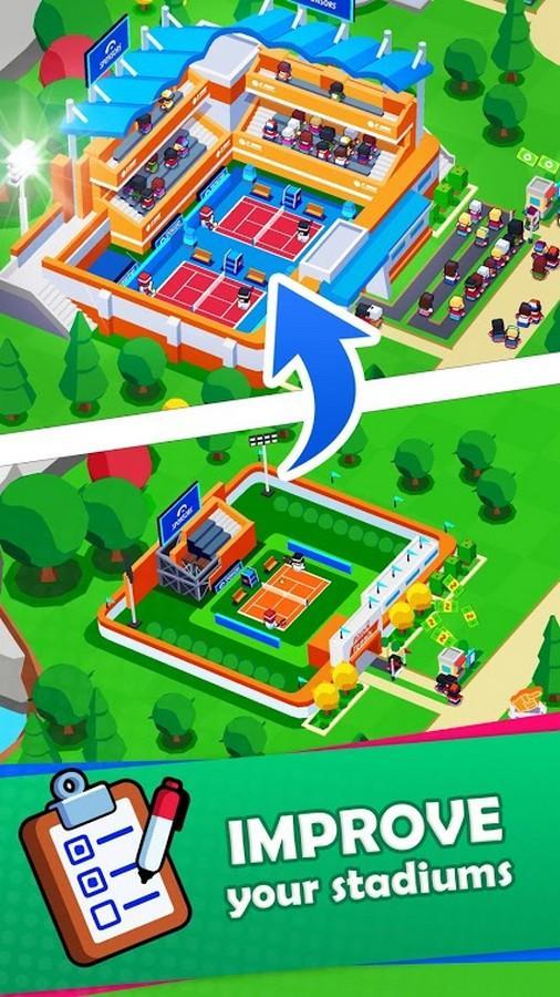 Sports City Tycoon APK MOD imagen 3