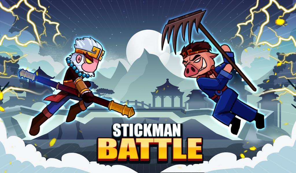 Stickman Battle APK MOD imagen 1