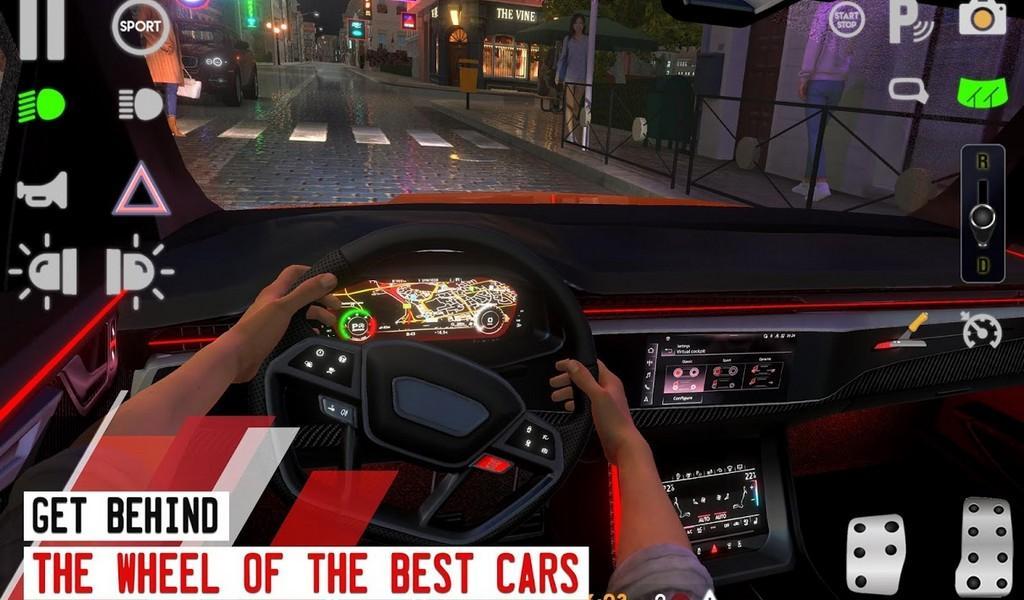 Driving School Sim APK MOD imagen 3