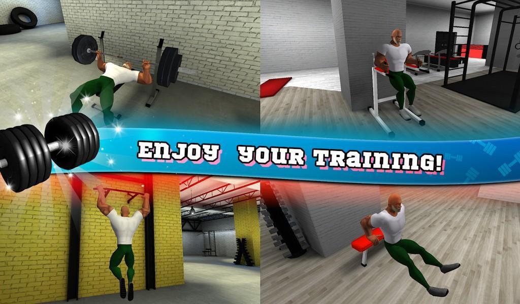 Fitness Gym Bodybuilding Pump APK MOD imagen 1