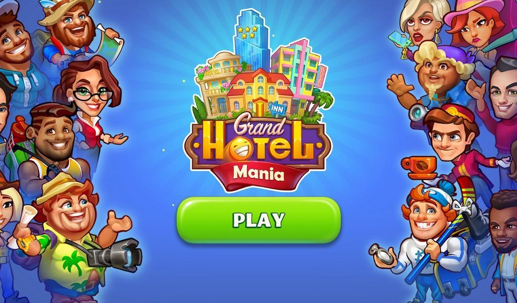 Grand Hotel Mania APK MOD imagen 1