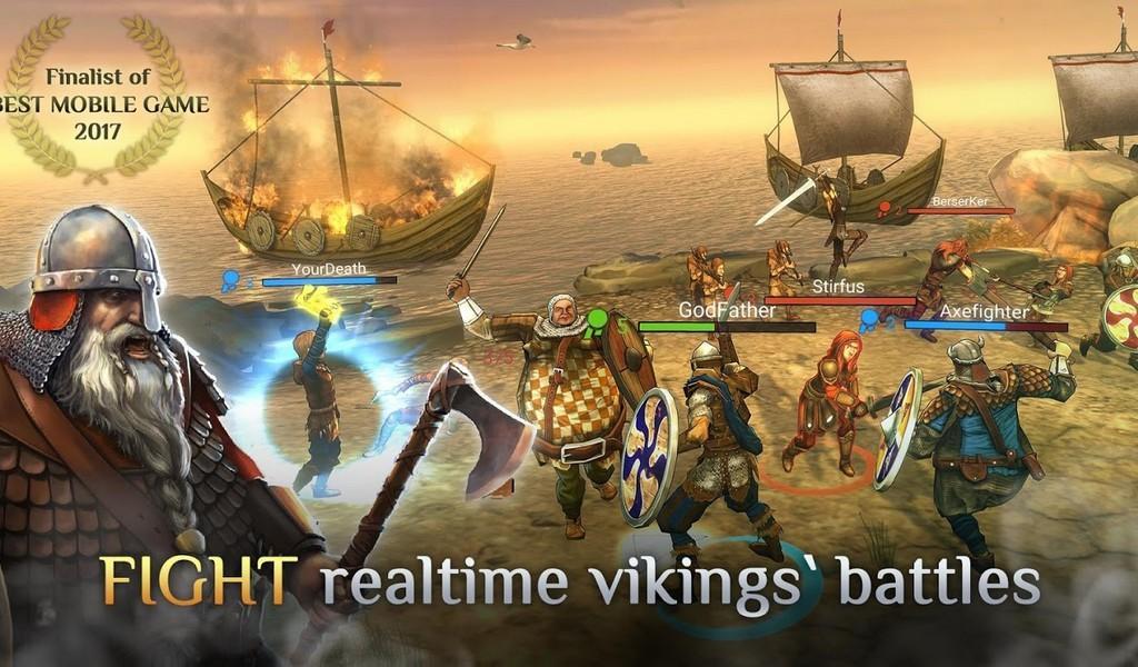 I, Viking APK MOD imagen 1
