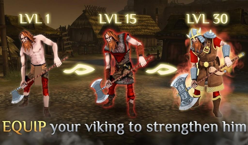 I, Viking APK MOD imagen 3
