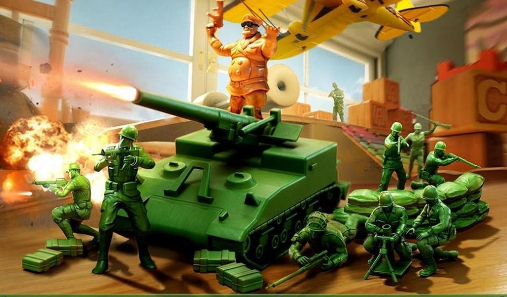 Army Men Strike APK MOD imagen 1