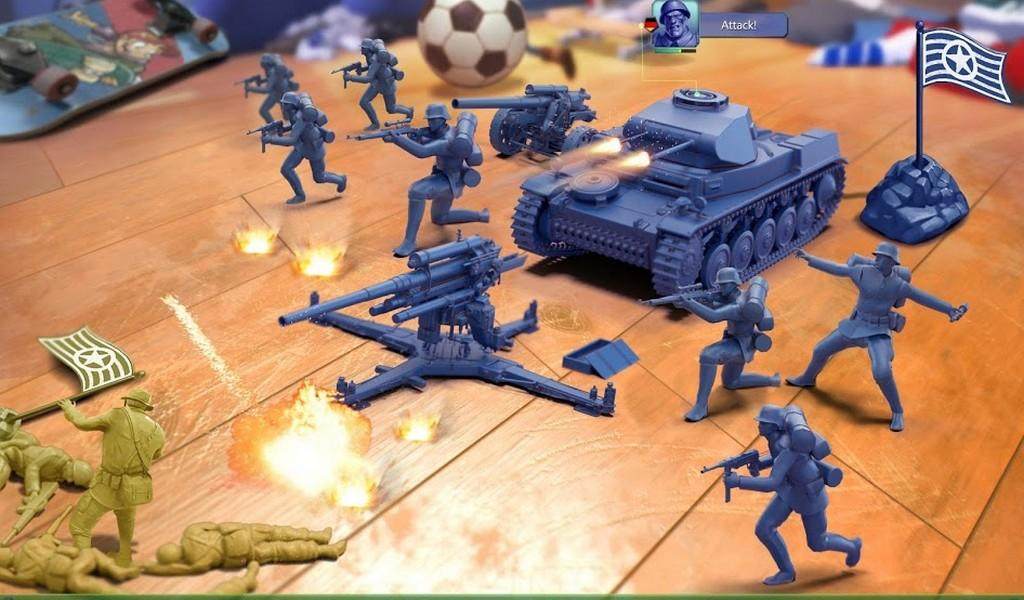 Army Men Strike APK MOD imagen 2