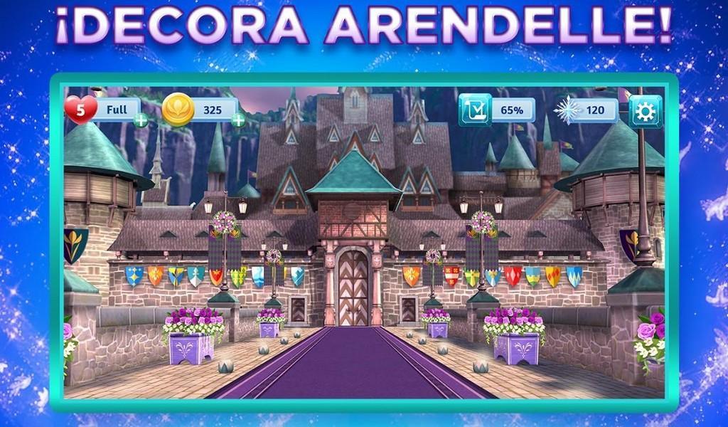 Disney Frozen Adventures APK MOD imagen 1