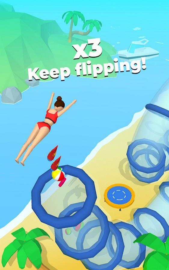 Flip Jump Stack APK MOD imagen 1