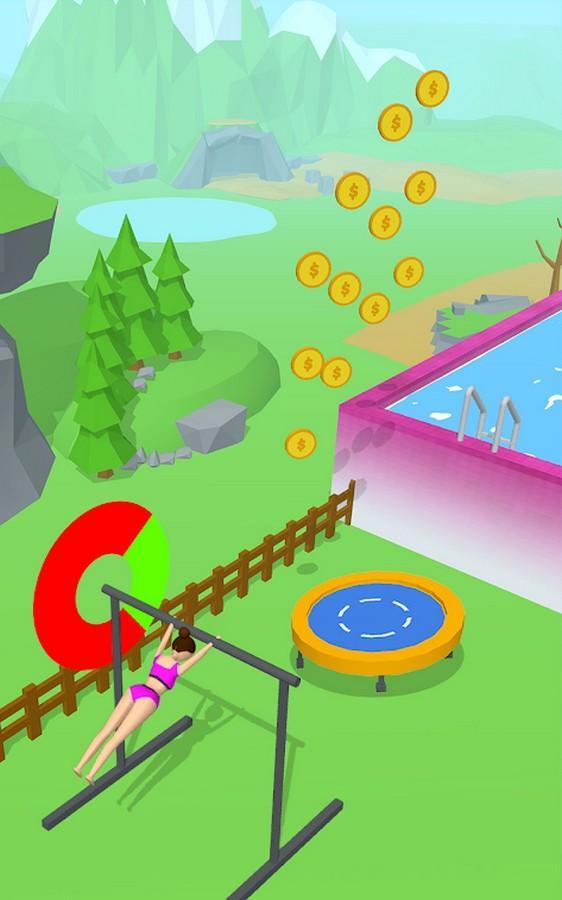 Flip Jump Stack APK MOD imagen 2