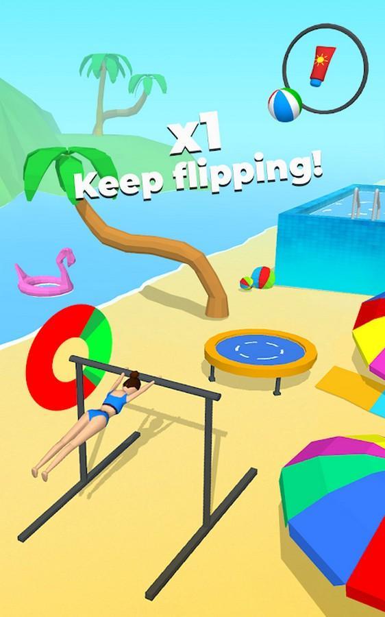 Flip Jump Stack APK MOD imagen 3