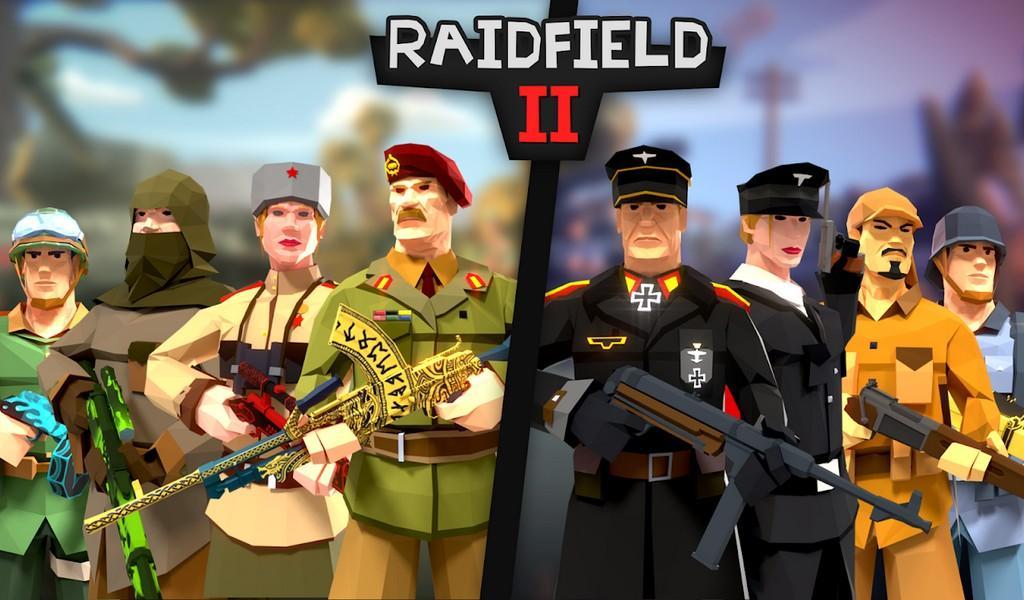 Raidfield 2 APK MOD imagen 1