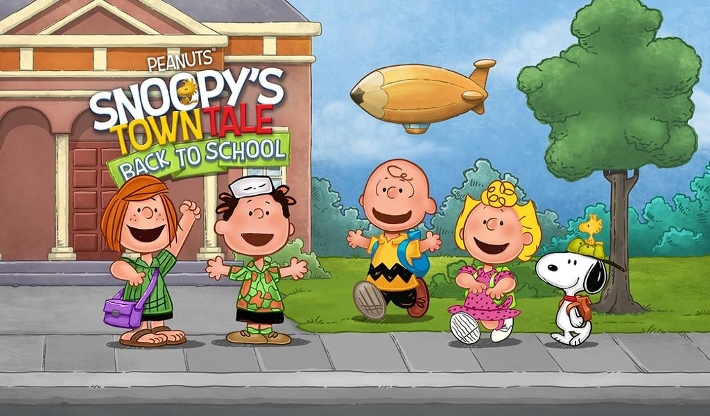 Snoopy's Town Tale APK MOD imagen 2