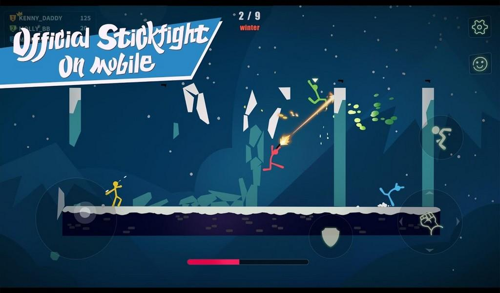 Stick Fight The Game Mobile APK MOD imagen 2