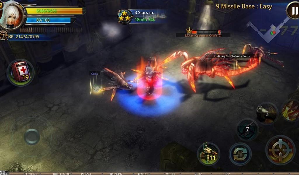 Broken Dawn II HD APK MOD imagen 2